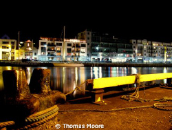 Galway Harbour at Night by Thomas Moore