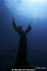 Cristo degli abissi (Baia di San Fruttuoso - Portofino) I... by Marcello Di Francesco