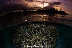 Tumon Bay, Guam by Tony Cherbas