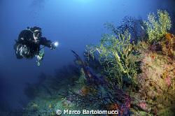 """"""" Secca di Miseno"""" in the middle of Naples goulf by Marco Bartolomucci"""