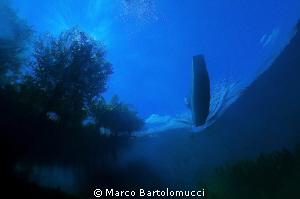 Posta Fibreno Lake-  ITALY. by Marco Bartolomucci