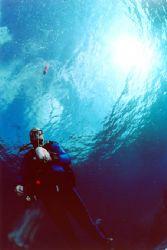 Palier de sécurité aux Maldives by Philippe Brunner