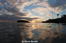 taken at South Mole dive site - just before going for a n... by Dave Baxter