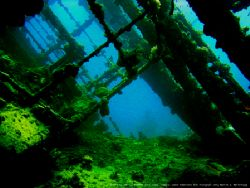 The wreck of Umbria lies in 0-90 feet of water, just outs... by Stein A. Mollerhaug
