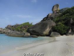 The magic of Similan Islands above water by Alex Varani