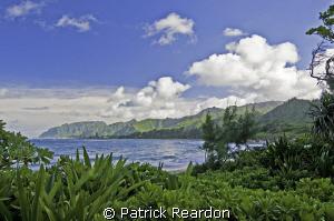 Idyllic afternoon.  North Shore, Oahu. by Patrick Reardon