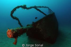Estoril shipwreck at Las Galletas, Santa Cruz de Tenerife by Jorge Sorial