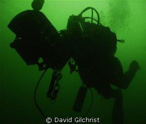 Test Dive-Diver tests handheld navigation equipment in th... by David Gilchrist