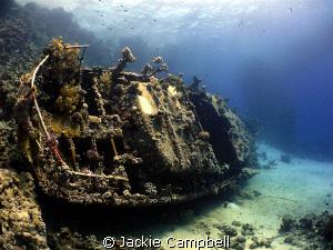 Wreck at small abu gallawa. by Jackie Campbell