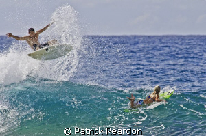 How to avoid running over attractive young surfer chicks.... by Patrick Reardon
