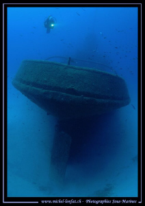 Wreck diving in Malta. Que du bonheur... :O)... by Michel Lonfat