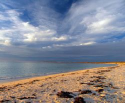 Colours of dusk, Warroora Station - Ningaloo Reef by Penny Murphy