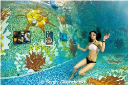 Underwater photoexibition of undqrwater photos... by Sergiy Glushchenko