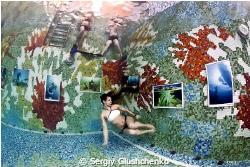 Underwater exibition by Sergiy Glushchenko
