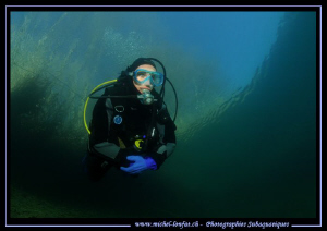 Freshwater dives.... :O)... by Michel Lonfat