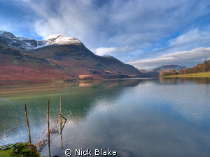 A view of Buttermere in the Lake District by Nick Blake