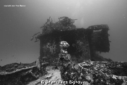 Wreck diving In Mauritius Island ,this is the Stella Maru... by Jean-Yves Bignoux