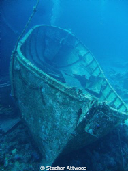Life boat beside the wreck of the Salem Express by Stephan Attwood