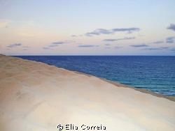 Sea dunes at dusk! by Elia Correia