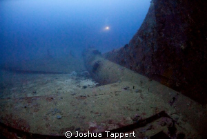 BlackJack B17 Bomber wreck.  160' depth Shot with Magic ... by Joshua Tappert