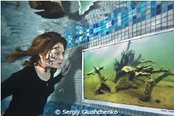 Tatuage under water by Sergiy Glushchenko