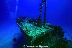 Mauritian Shipwreck North West Coast Mauritius ,Jean-Yves... by Jean-Yves Bignoux
