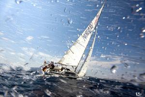 sailing race by Rico Besserdich