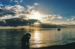 Fiji Sunset by Beverly Speed