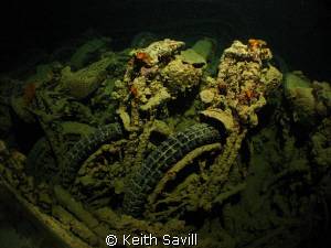 Cargo of the Thistlegorm. Canon Ixus85, Inon Fisheye, Ino... by Keith Savill