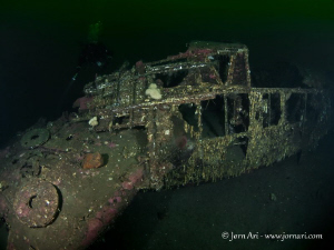 WW2 Wreck. Dornier 24 plane shot down sometime during the... by Jorn Ari
