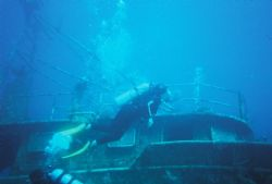 Wreck Dive in Nassau Bahamas with Stuarts Cove by Steven Daniel