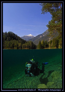 Diving the Fernsteinsee... by Michel Lonfat