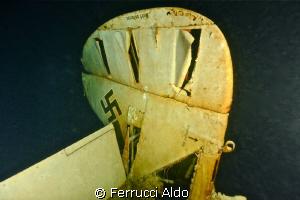 Focke Wulf 58 C -110 metres Lac du Bourget Savoie France... by Ferrucci Aldo