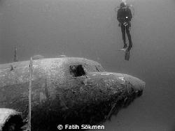 C-47 Dacota Plane Wreck by Fatih Sökmen
