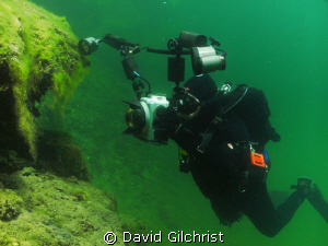 The Underwater Photographer-Image # 2 by David Gilchrist