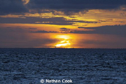 Sunset in Cozumel Mexico. Sigma telephoto 80-125mm Canon ... by Nathan Cook