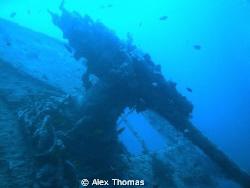 Anti-Aircraft Gun  SS Thistlegorm by Alex Thomas