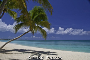 The view on 7 mile beach,  apres dive, Grand Cayman. by Patrick Reardon