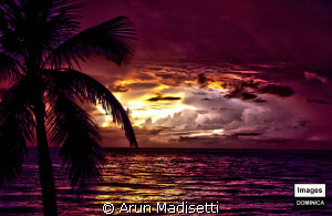 Tropical Storm Emily forming off the shore provided an aw... by Arun Madisetti