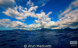 taken whilst waiting for the boat to come get me, off fil... by Arun Madisetti