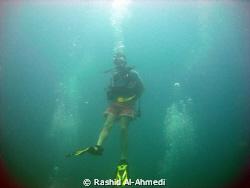 confidant diver by Rashid Al-Ahmedi