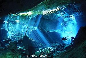 Kukulkan Cenote, Yucatan, Mexico. by Nick Blake