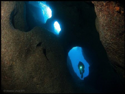 - BLUE EYE - A system of tunnels and caves called Blue E... by Reinhard Arndt