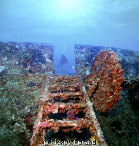 USS Spiegel Grove - Key Largo, FL by Rickey Ferand