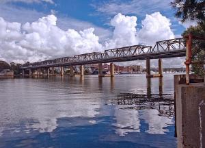 Iron Cove Bridge, Sydney Harbour by Doug Anderson