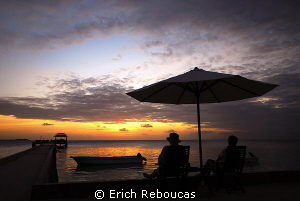 Sunset at Wakatobi by Erich Reboucas