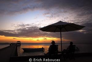 Sunset at Wakatobi by Erich Reboucas