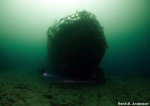 Solvang wreck in Gulen by Rene Andersen