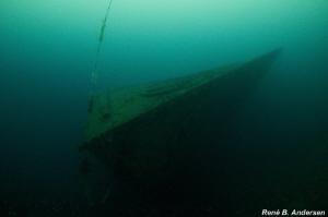 the WW2 wreck of Oldenburg by Rene Braband Andersen