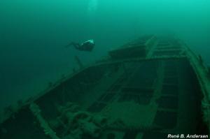 Wreck of Haakon by Rene Braband Andersen